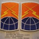 160TH SIGNAL BRIGADE COLOR PATCHES, INSIGNIA LOT OF 2