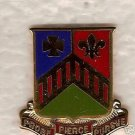 127TH ARMOR REGIMENT DUI CREST DISTINCTIVE INSIGNIA