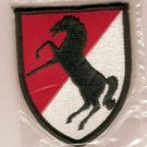 11TH ARMORED CAVALRY REGT COLOR PATCH INSIGNIA