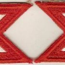 10TH ARMY CORPS PATCHES COLOR INSIGNIA 9/44 QTY 2