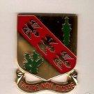 107TH CAVALRY REGIMENT DUI DI CREST INSIGNIA