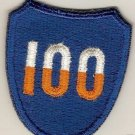 100TH INFANTRY DIVISION PATCH COLOR SHOULDER INSIGNIA