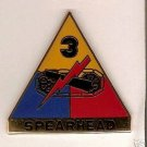 "3RD ARMORED DIVISION ""SPEARHEAD"" DUI CREST INSIGNIA"