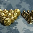 USCG For Service Dress Hat Pin Screw Post lot of 10