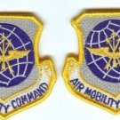 AIR MOBILITY COMMAND AMC VELCRO BACKED PATCHES L@@K!!!!
