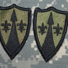 Army Support Command Europe Subd lot of 2 patches