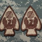 Army Air Traffic, Dessert Tan patch qty 2
