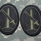 Military District Washington DC lot of 2 patches subd