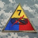 7th Armored Division color patch Insignia