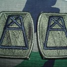 156th Quartermaster Command Patch subdued Qty 2