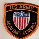ARMY BOS ADJUTANT GENERAL PATCH COLOR INSIGNIA