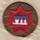 7TH ARMY CORPS COLOR PATCH INSIGNIA