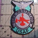 AIR FORCE FIRE PROTECTION FULL COLOR PATCH INSIGNIA NEW
