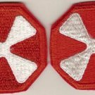 8TH ARMY CORPS PATCHES F/C 6/69 2