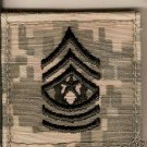 "ARMY RANK INSIGNIA ACU ""COMMAND SARGENT MAJOR"" CSM"