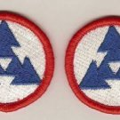 ARMY 3RD LOGISTICS COMMAND PATCHES INSIGNIA LOT OF 2