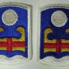 92ND INFANTRY BRIGADE PATCHES, 40 YEARS OLD, NEW NR