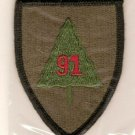 91ST INFANTRY TRAINING DIVISION COLOR PATCH INSIGNIA