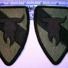ARMY 163RD ARMORED CAVALRY PATCHES INSIGNIA LOT OF 2
