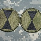 7th Infantry Division patch subd lot of 2