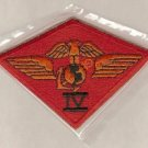 MARINE CORPS 4TH AIRWING COLOR PATCH INSIGNIA