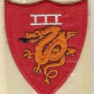 MARINE CORPS 3RD AMPHIBIOUS CORPS COLOR PATCH INSIGNIA
