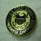 COAST GUARD HONORABLE DISCHARGE LAPEL PIN NEW