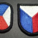BERET FLASH AND OVAL 6TH SPECIAL OPERATIONS COMMAND