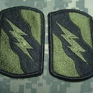 155th Armor Brigade patches lot of 2 subdued