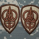 3rd Personnel Command, Dessert Tan patch qty 2