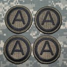 3rd Army Patch lot of 4 Subdued
