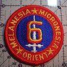 USMC 6TH DIVISION COLOR PATCH INSIGNIA NEW