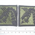 18TH AIRBORNE CORPS PATCHES SUBDUED QTY 2