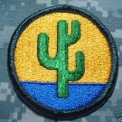 103rd Support Brigade Color Patch Merrowed Edges