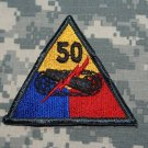 50th Armored Division color patch Insignia