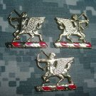 6th FIELD ARTILLERY REGIMENT DUI CREST INSIGNIA 3 PIECE