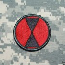 7th Infantry Division color patch Insignia
