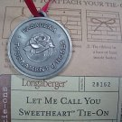 LONGABERGER 2004 LET ME CALL YOU SWEETHEART #28162