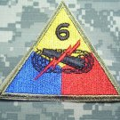 6th Armored Division Color Patch
