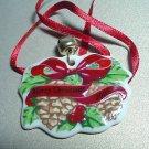 LONGABERGER 2005 MERRY CHRISTMAS TIE-ON NIP #23174