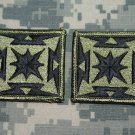 Army Broadcasting Service Patch, Subdued, lot of 2