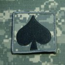 Spade Emblem Helmet Patch ACU Qty 1 New