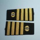 U.S.NAVY SOFT SHOULDER BOARDS CAPTAIN JAG CORPS