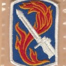 198TH INFANTRY BRIGADE COLOR PATCH INSIGNIA