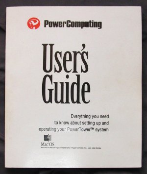 Power Computing PowerTower 604e User Guide