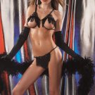 Fringe Open cup bra and matching G-String