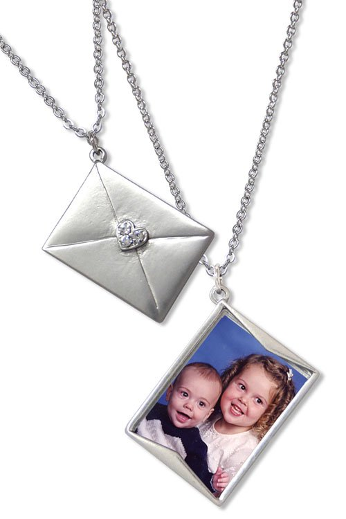 Photo Necklace, Sent With Love
