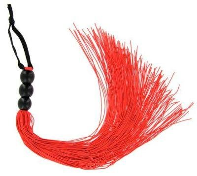 "11.5"" Rouge Red Whip ~ Vegan Friendly Crop Flogger Halloween Prop"