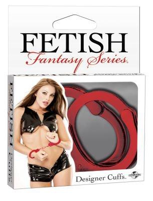 Fetish Fantasy Designer Metal Wrist Cuffs Handcuffs