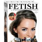 Fetish Fantasy Platinum Silver Ball Gag w/Leather Strap